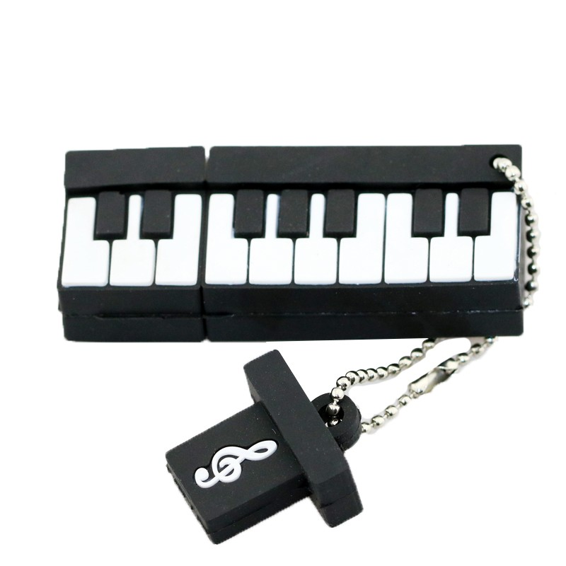 Pen Drive Cartoon Instruments Piano USB Flash Drive Söta Musiknoter - Extern lagring - Foto 2