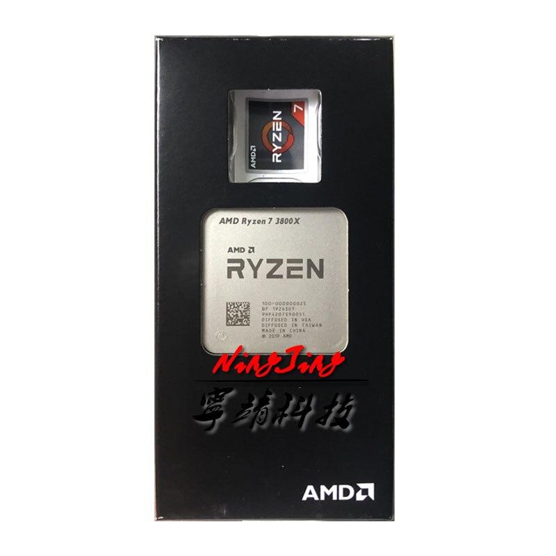 [해외] AMD RYZEN 7 3800X R7 3.9 GHZ 8 코어 16 스레드 CPU 프로세서 7NM L3 - AMD RYZEN 7 3800X R7
