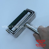 Manual Stainless Steel Proofing Ink Roller Chrome Anilox Rubber Roller Ink Proofer
