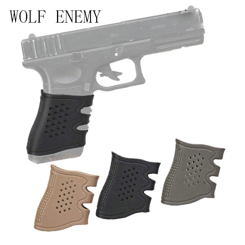 Impugnatura in Gomma per Glock 17 19 20 21 22 23 25 31 32 34 35 37 38 Pistola