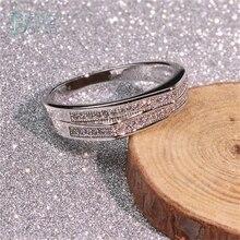BOAKO Double Split Crown Ring for Women Men Jewelry Finger Rings Bijoux Love Elegant Party Gift Lover Size 6-10 B40