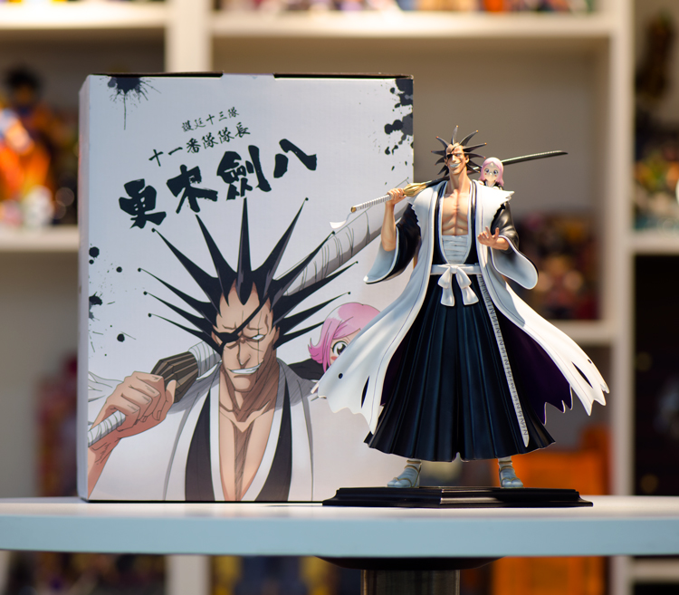MODEL FANS IN-STOCK BLEACH 25cm height Kenpachi Zaraki and Kusajishi Yachiru GK resin made for Collection 3d model relief for cnc in stl file format animals and birds 2