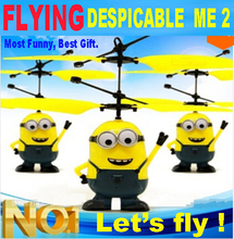 Remote Control RC Helicopter Flying Despicable Me Minion Quadcopter Drone Ar.drone Kids Toy VS Fairy Doll x5sw x5c kids toys