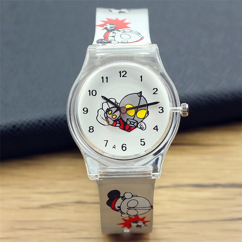 hot selling child Altman dial super hero high quality silicone font b watch b font boys