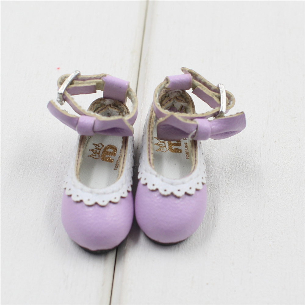 Neo Blythe Doll Designer Shoes with Bow 19