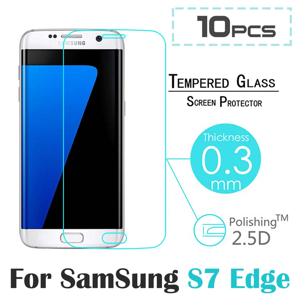 10 Pcs/lot <font><b>High</b></font> <font><b>Quality</b></font> For Samsung S7 Edge 3D <font><b>Curved</b></font> <font><b>Full</b></font> Screen Cover <font><b>Coverage</b></font> <font><b>Tempered</b></font> Glass Film for Samsung Galaxy S7 Edge