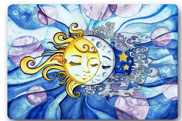 moon and sun - 900×630
