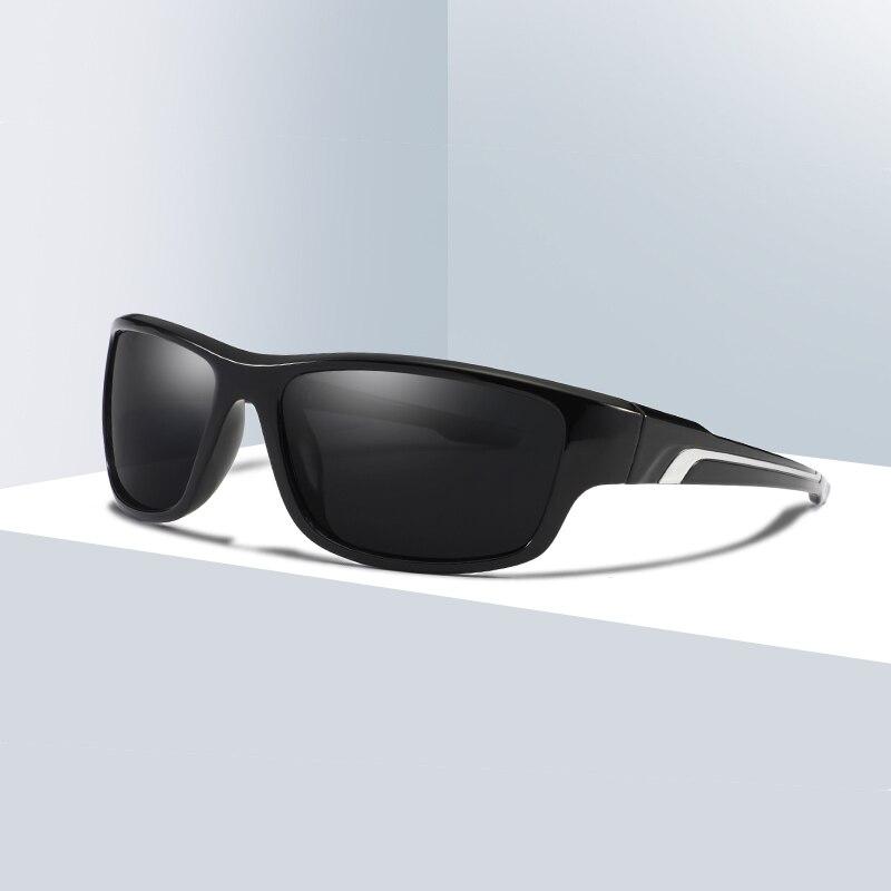 SARA Homens Esporte Ao Ar Livre Clássico Estilo de Design Da Marca Óculos  Polarizados Masculino Óculos b64cf8aaf2