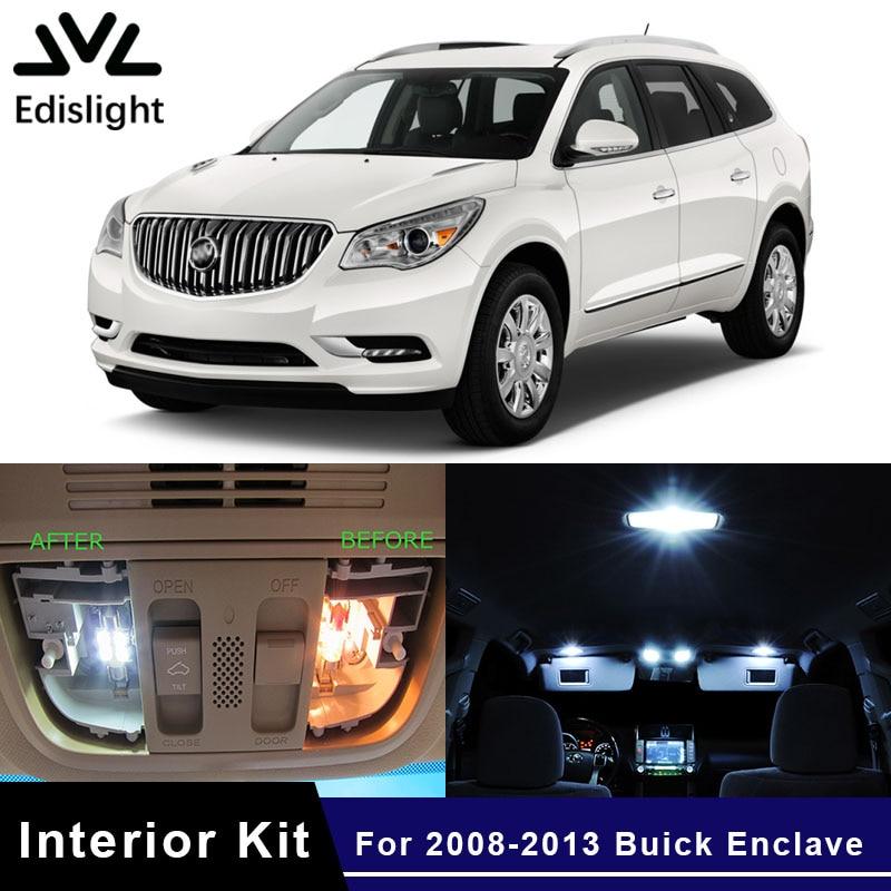 2013 Buicks: Edislight 12pcs White Ice Blue LED Car Light Interior