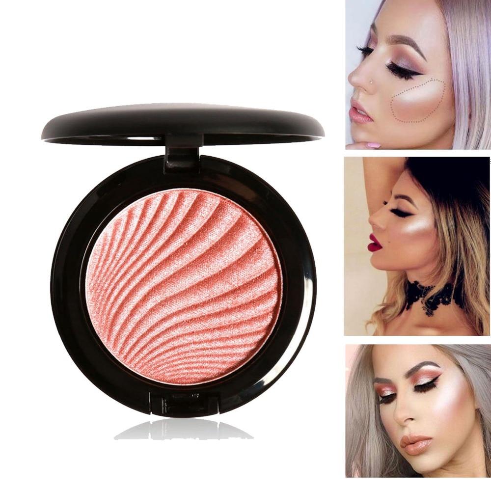 Focallure Glow Powder Highlighter Maquillage Imagic Illuminator Brightening Face Baked Highlighter Powder Bronzer Highlighter