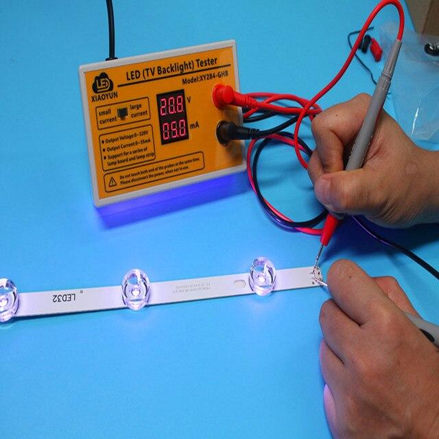 0 320V wyjście telewizor LED Tester podświetlenia listwy LED narzędzie testowe z prądem i wskaźnik napięcia dla wszystkich aplikacji LED