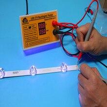 Probador de retroiluminación LED de salida de 0 a 320V, herramienta de prueba de tiras LED con pantalla de corriente y voltaje para todas las aplicaciones LED