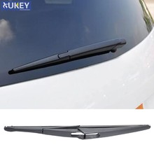 "Xukey 12"" Rear Window Wiper Blade For Citroen C3 Picasso For Fiat Punto Grand Evo 199 For Hyundai ix20 Honda Civic Hatchback(China)"