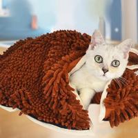 Detachable Quick Drying Dog Bath Towel Washable Pet Cat Cat Towels Pet Shower Supplies House Cleaning