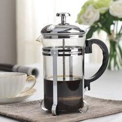 600 ml szklany francuski naciśnij filtr do kawy zaparzacz do kawy Espresso Infuser Puer czajnik do herbaty narzędzie do kawy w Dzbanki do kawy od Dom i ogród na