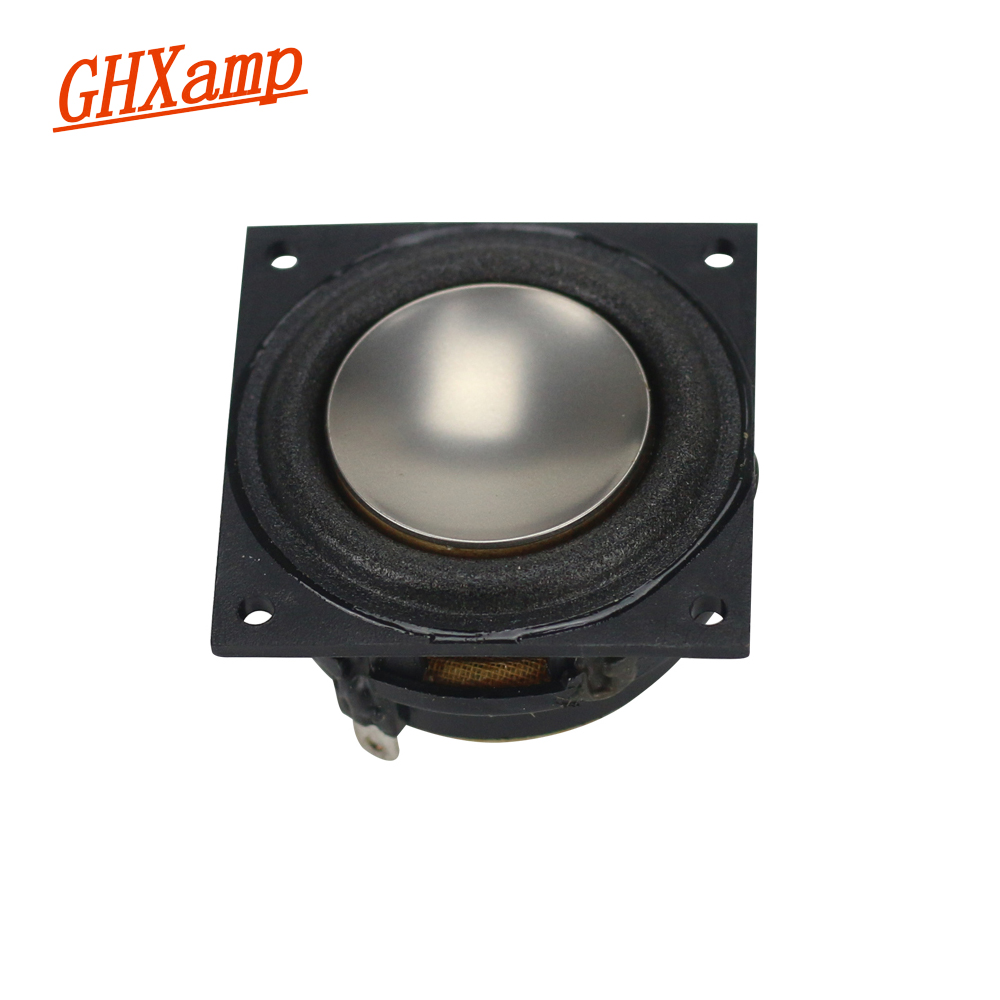 GHXAMP 2PCS 1.25 inch 4OHM 6W Speaker Neodymium Magnetic Full Range Large Volume Bluetooth Mobile Speaker DIY h 019 fountek fr88ex full range 3 inch hifi speaker amplifier speaker hot sale 84 3db 1w 1m