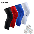1 Pcs Sport Safety Football Volleyball Basketball KneePads Tape Elbow Tactical Knee Pads Calf Support Honeycomb Knees Protect