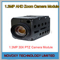 Free shipping 1.3MP AHD  30x Optical Auto Focus Digital CCTV Security PTZ Speed Dome Camera Zoom Module 3.3~99mm Lens