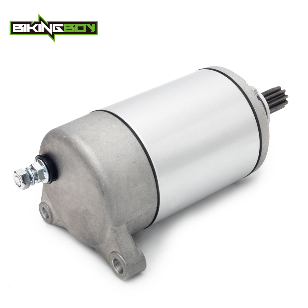BIKINGBOY Starter Start Motor For <font><b>HISUN</b></font> ATV <font><b>UTV</b></font> <font><b>800</b></font> HS800 YS800 SuperMach Menards Coleman Cabelas Big Muddy OEM 31200-010-0000 image