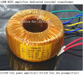 HIFI Amplifier Dedicated Toroidal Transformer 120W Wire Double 18V or Dual 22V for LM4766 TA2022 LM3886 amplifier for your DIY