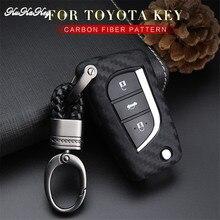 3 Button Car Remote Key Fob Cover Case For Toyota Auris Corolla Avensis Verso Yaris Aygo Scion TC IM 2015 2016  Key Shell Bag цена и фото