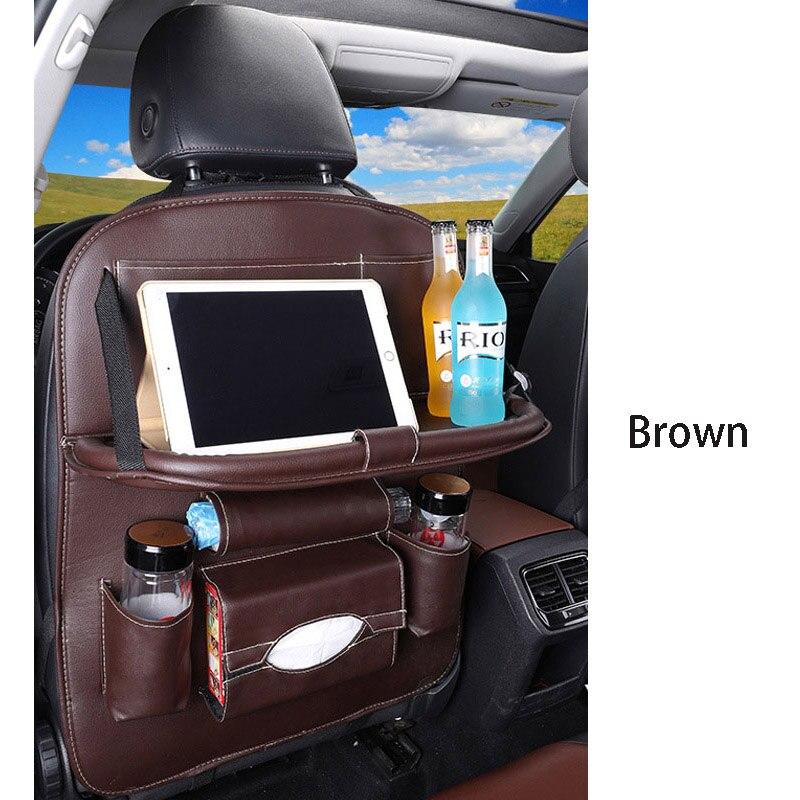 Дропшиппинг, чехлы для автомобиля, дизайн, модное автомобильное сиденье, для хранения, стильная многофункциональная сумка на заднюю часть, детское сиденье, для покупок, для автомобиля - Цвет: Premium bworn