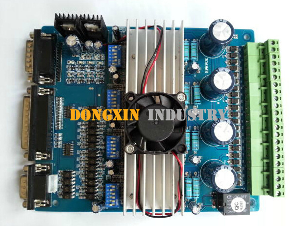 ФОТО CNC TB6560 4 Axis kit 3.5A NEMA 23 Stepper Motor TB6560 Driver Controller Stepper Motor Driver