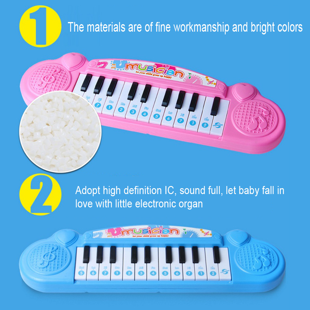 Cool Play Musical Toys Animal Farm Piano Electronic Organ Electronic Keyboard