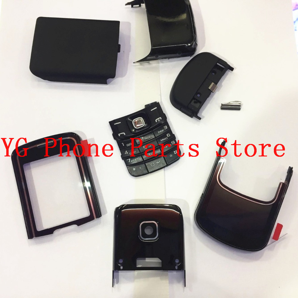 RTBESTOYZ New Full Housing Cover Case with Keypad for Nokia 8600
