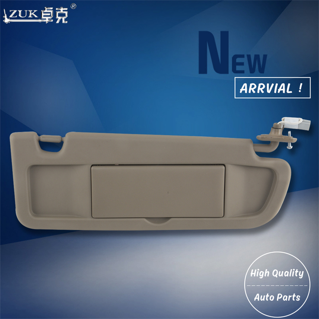Car Styling Front Right Passenger Side Car Sunvisor For HONDA CIVIC FA1  2006 2007 2008 2009 2010 2011 For Left Hand Drive Cars c8371e5a7cf