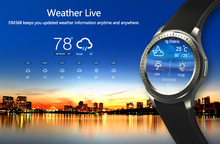 2017 New Smart Watch SmartWatch DM368 1.39″ AMOLED Display Quad Core Bluetooth4. Heart Rate Monitor WristWatch iOS Android