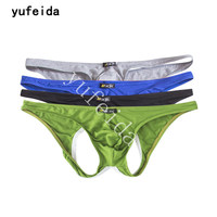YUFEIDA Hot Gay Sexy Ultradunne Bikini Slips Slipje voor Mannen Comfortabele heren Onderbroek Briefs Slip Homme Ondergoed 4 Stks/partij