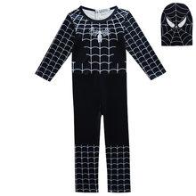 77b0b3be79 Niño niña pijamas carnaval pijamas Spiderman Batman body Kid Cosplay pijama  onesie Halloween trajes para niños