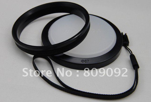 Mennon Портативный 67 мм Баланс белого объектива фильтр Кепки с горы ВБ для зеркальных камер аксессуары