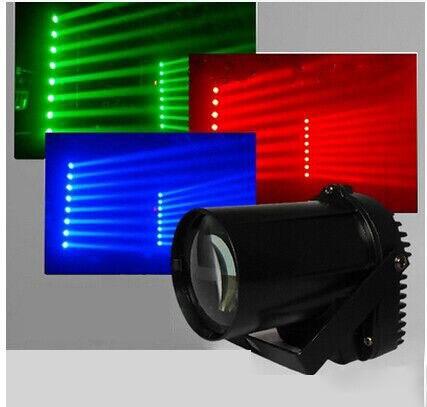 5W Mini LED Pinspot Spotlight Effect Stage Light RGBWYP 6 Color Beam Lighting For Dj Disco Mirror Balls Bar Ktv DJ Disco Show