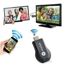 HIPERDEAL WiFi Display Allcast Wifi Display HDMI 1080P TV Dongle Receiver Fits Smartphone Laptop TV Display HD Audio JANN06