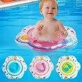 Дети младенческой купальники плавание седло милые дети ребенок ребенок надувной бассейн формы цветка 3 цвет