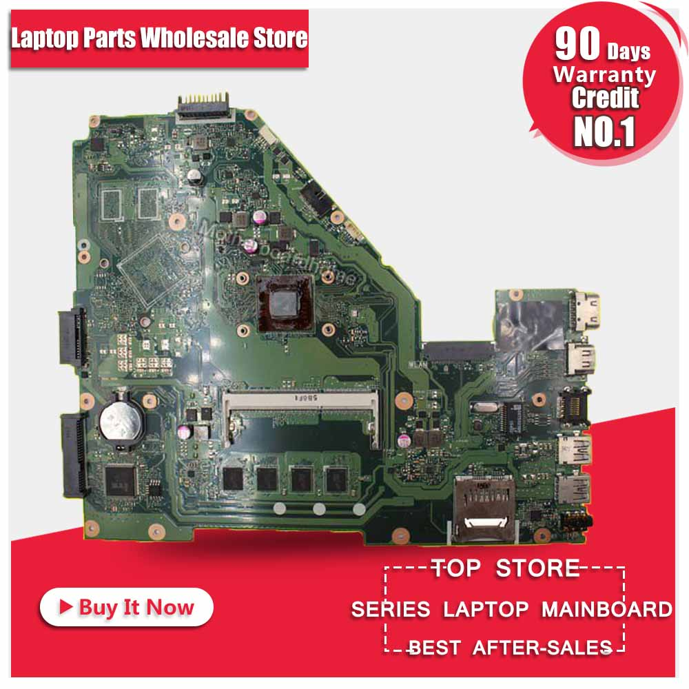 For ASUS X550WA X550WE X550W D552W laptop Motherboard mainboard with E1-6010 processor 60NB06Q0MB1610 100% tested free shipping wavelets processor