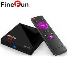 FineFun A5X Plus Mini Android 7.1 TV Box RK3328 Quad Core 4K VP9 H.265 HDR10 USB3.0 1G / 8G Mini PC DLNA WiFi LAN HDD Player