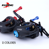 KUYING THUNDER SuperLight Left Right Handed Fishing Lure Reel Vessel Water Drop Wheel Coil For Bait Casting Shallow Spool Tiny