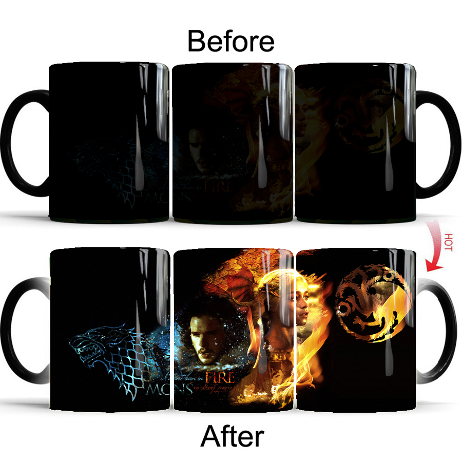 Color Changing Mug Game Of Thrones 7