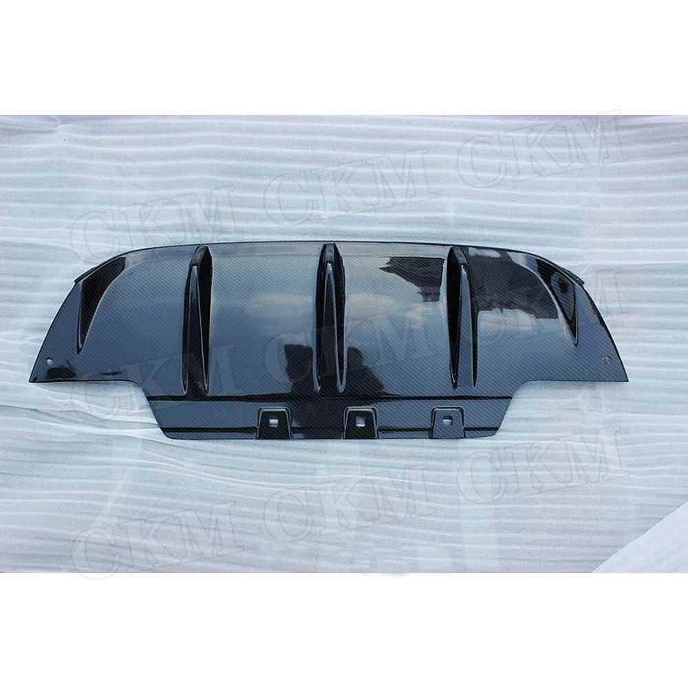 In Fibra di carbonio Paraurti Posteriore Lip Diffusore Spoiler per BMW Serie 6 F06 F12 F13 M6 M Tech M Sport 2013 -2016/FPR Non Verniciata