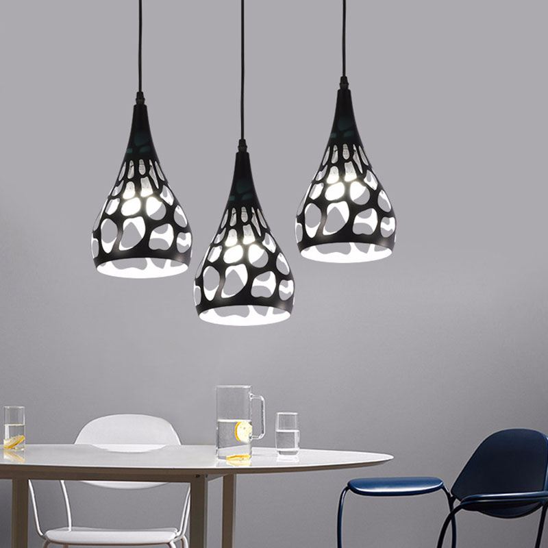 New style! E27 Pendant light hanging lamp droplight cut out style For Dining Room Shop Bar Counter Decoration