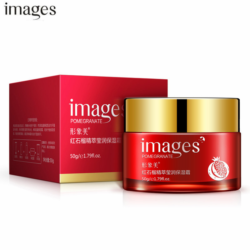50G Red Pomegranate Nutritiou Moisture Essence Face Cream Skin Care Whitening Anti Aging Wrinkle Cream Lift Firming For Dry Skin image