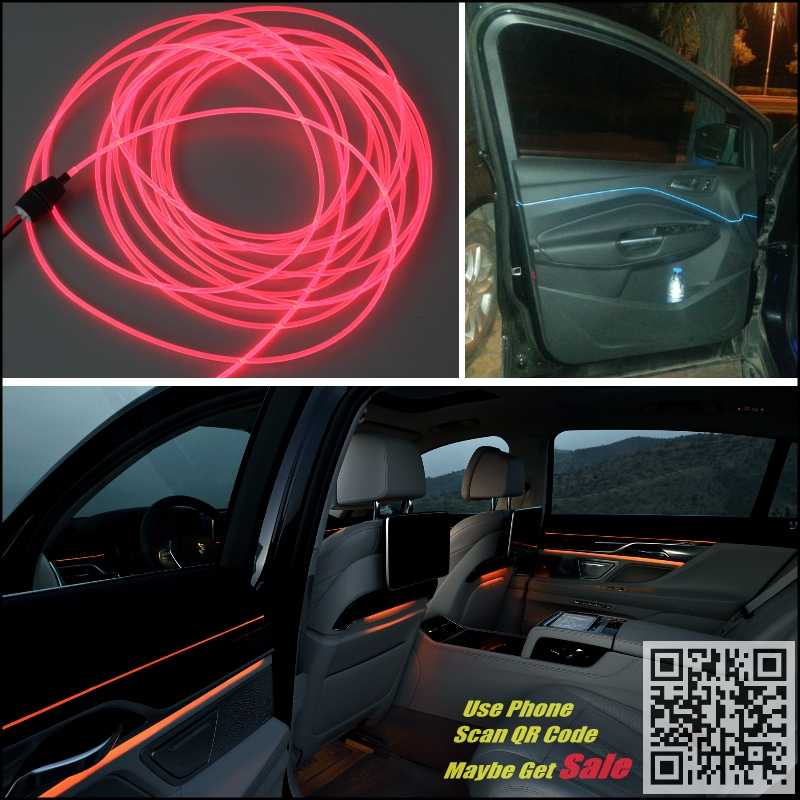 For Buick Regal Car Interior Ambient Light Panel illumination For Car Inside Tuning Cool Strip Refit Light Optic Fiber Band  for kia cee d jd 2006 2012 car interior ambient light panel illumination for car inside tuning cool strip light optic fiber band