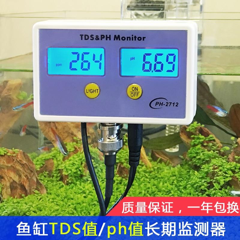 Fish Tank Water Quality Detection TDS / PH Long Term Monitor Fish Tank PH Tester Aquarium PH PH Meter ph 025m ph025m online ph monitor ph tester