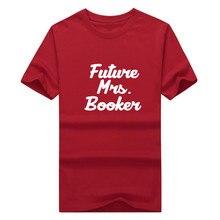 2017 Future Mrs Devin Booker Kentucky T-shirt 100% cotton 12 short sleeve sun T shirt 0113-16