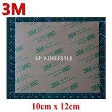 Super Fino 0.06 milímetros de Espessura, (100mm * 120mm) 3 3M 467 Dupla Face Adesiva Etiqueta, para PC Telefone Placa de Identificação, Espuma, Almofada Térmica Vínculo