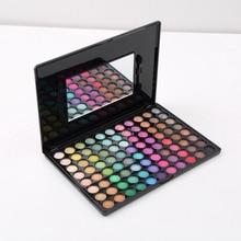 New 1 Set Pro 88 Colors Eye Shadow Set with Mirror Matte Eyeshadow Palette Fashion eyeshadow glitter eye shadow palette makeup