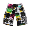 Men's loose personalized printed beach shorts men fashion casual shorts men summer tide board shorts Swimsuit